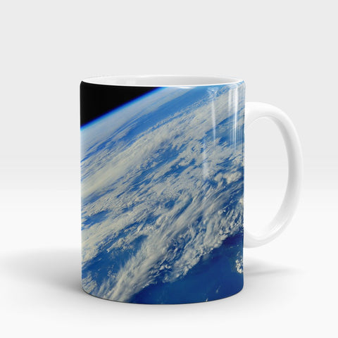 Planet Earth Surface Printed Mug-NA5803