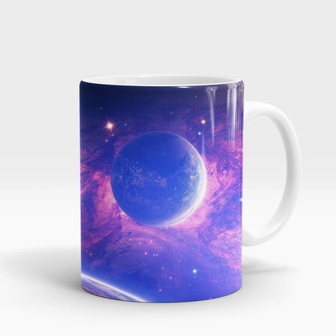 Planet Light Spot Printed Mug-NA5818