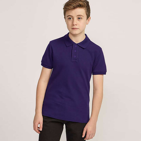 Dickies Polo Shirt For Boys-Purple-BE783