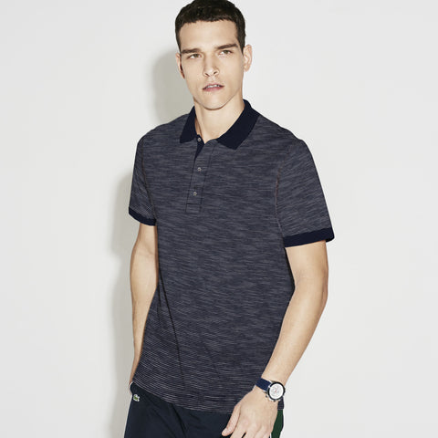 NEXT Polo Shirt For Men -Navy Striped- BE1041