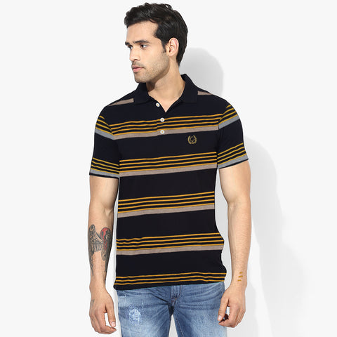 NEXT Polo Shirt For Men Cut Label-Striper-BE840