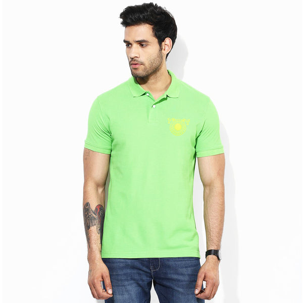 M&S Polo Shirt For Men-Lime-BE1033