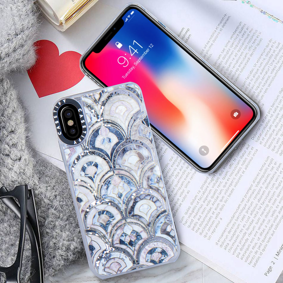 Quicksand Glitter iPhone Case For iPhone X-Assorted-NA7698