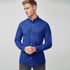 R2 Fitters Premium Slim Fit Casual Shirt For Men-Royal Blue-RCS83
