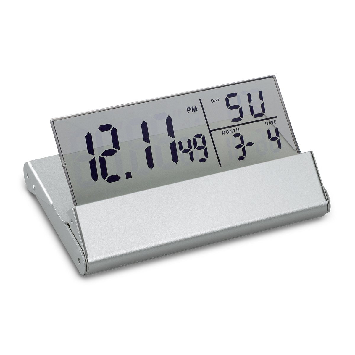 REFLECTS Desk Clock With Alarm Function-LIVERPOOL-VESOUL-NA8199