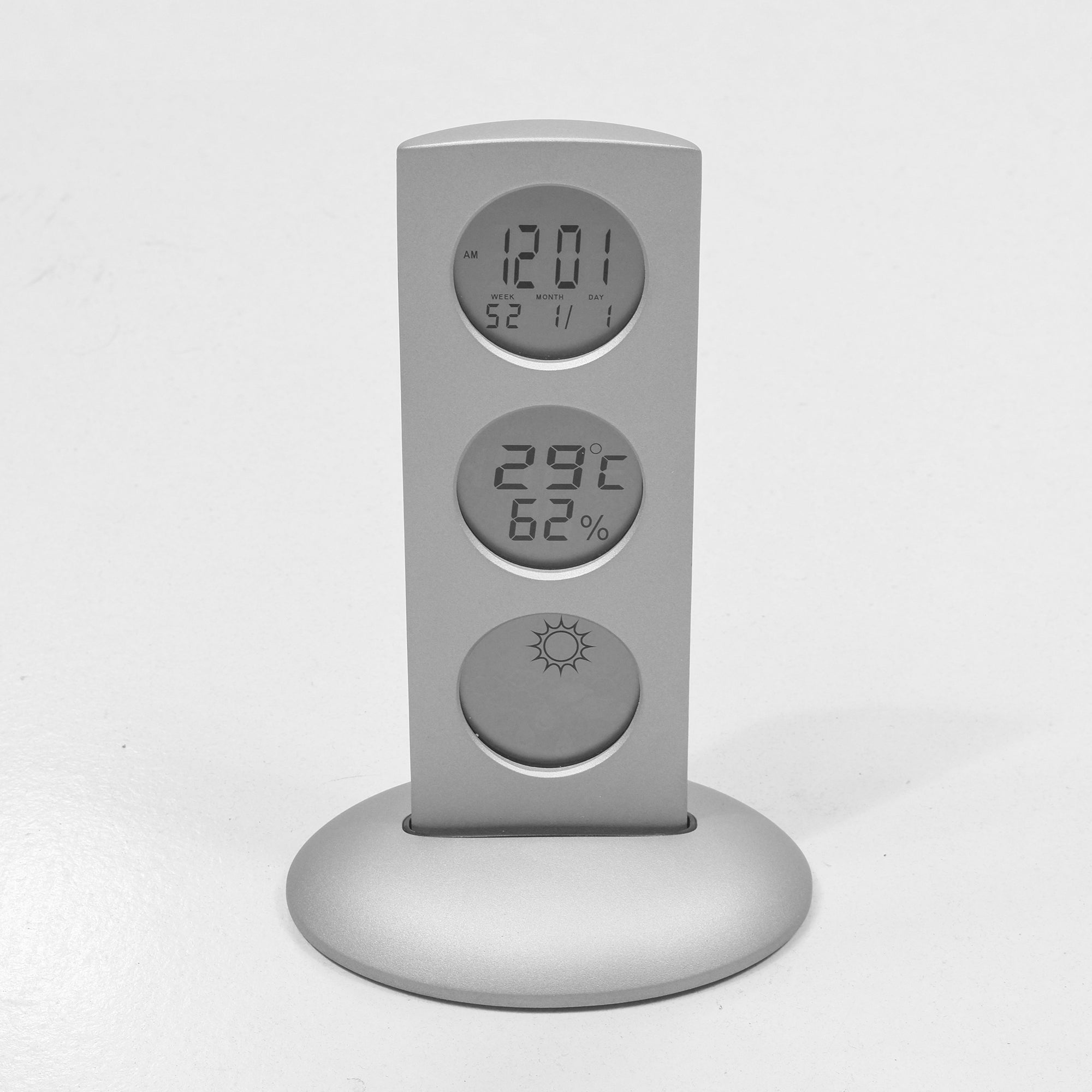 REFLECTS Weather Station Clock-NA8363