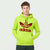 ADS Fleece Pullover Hoodie For Men-Light Pale Green-NA10280