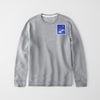 Reebok Fleece Crew Neck Sweatshirt For Men-Grey Melange-NA7758