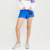 Reebok Terry Fleece Short For Ladies-Cyan Blue-BE7849