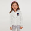 Reebok Terry Fleece Zipper Hoodie For Kids-Off White Melange-BE7895