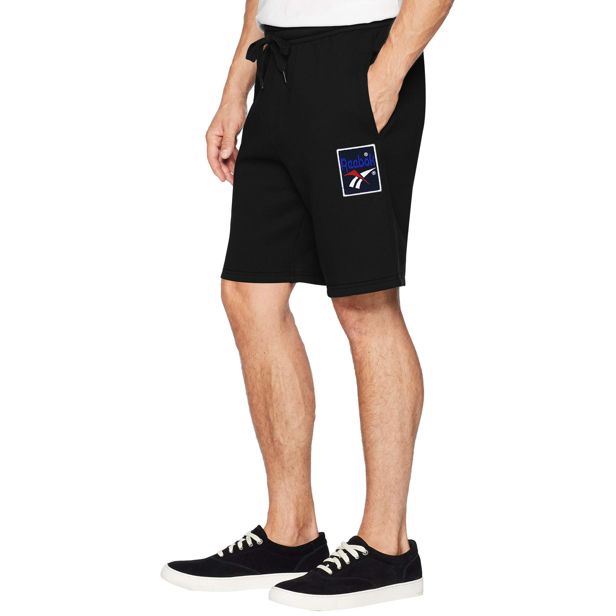 Reebok Terry Jersey Short For Men-Black-BE7878