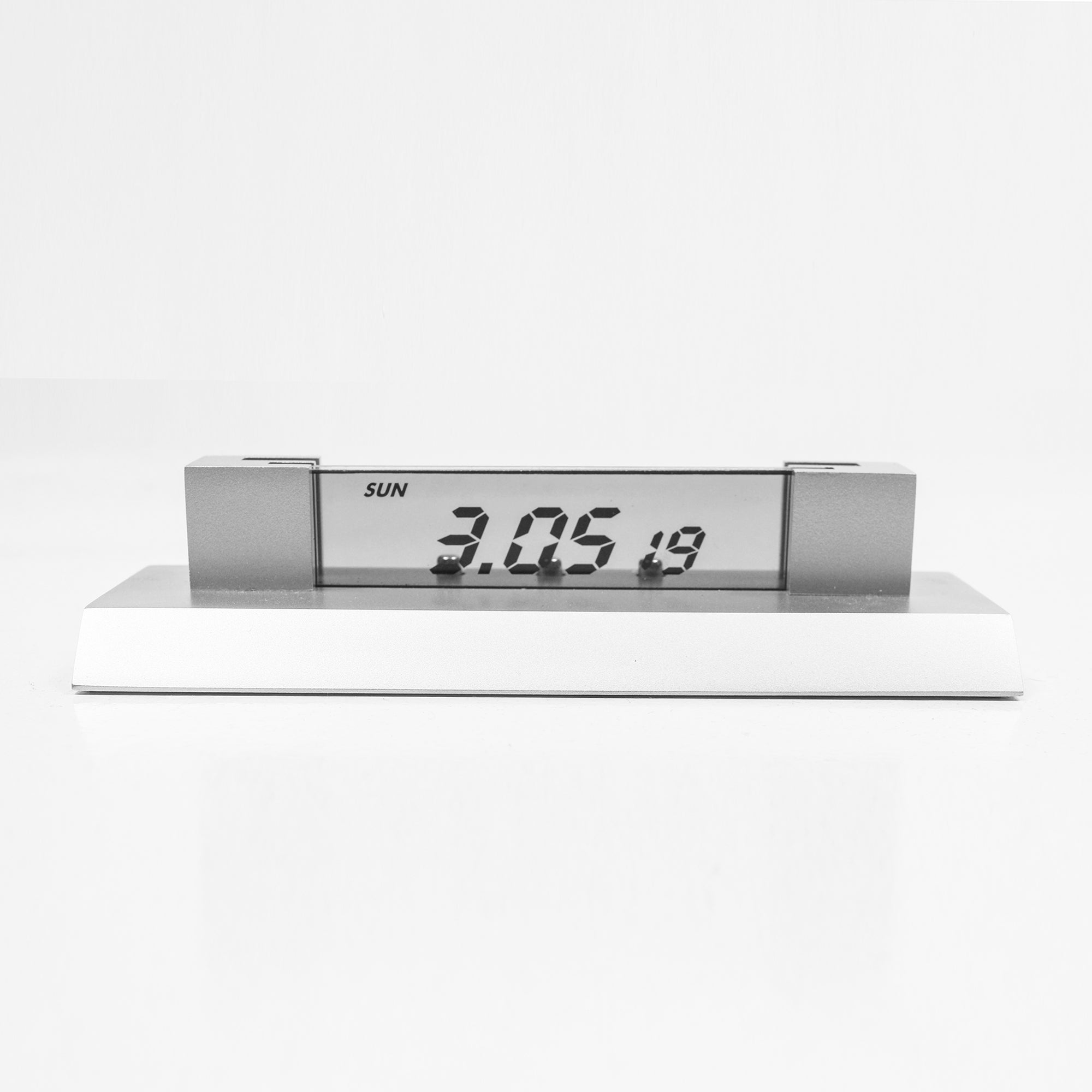 Reflects Business Card Holder With Clock-Screen-NA8371