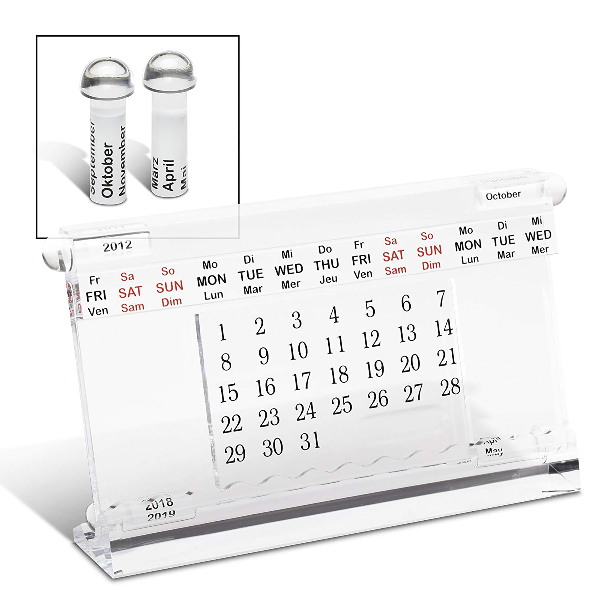 Reflects Desk Calendar-BS75