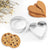 Heart & Circle Shaped Cookie Cutter-NA6029