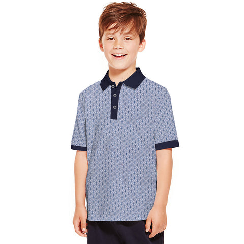 Next Polo Shirt For Kid Cut Label -All Over Print-BE2295