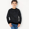 Tommy Hilfiger Terry Fleece Crew Neck Sweatshirt For Kids-Allover Print-SP759