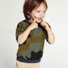 Tommy Hilfiger Fleece Crew Neck Sweatshirt For Kids-Camouflage-SP1387