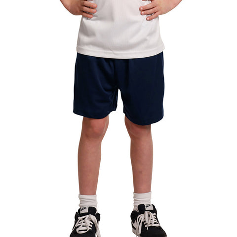 "Kid's ""1775"" Stylish Polyester Sport's Short-Dark Navy-BE615"
