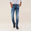 brandsego - Salsa Slim Fit Stretch Denim For Men-Light Blue Faded-NA7831