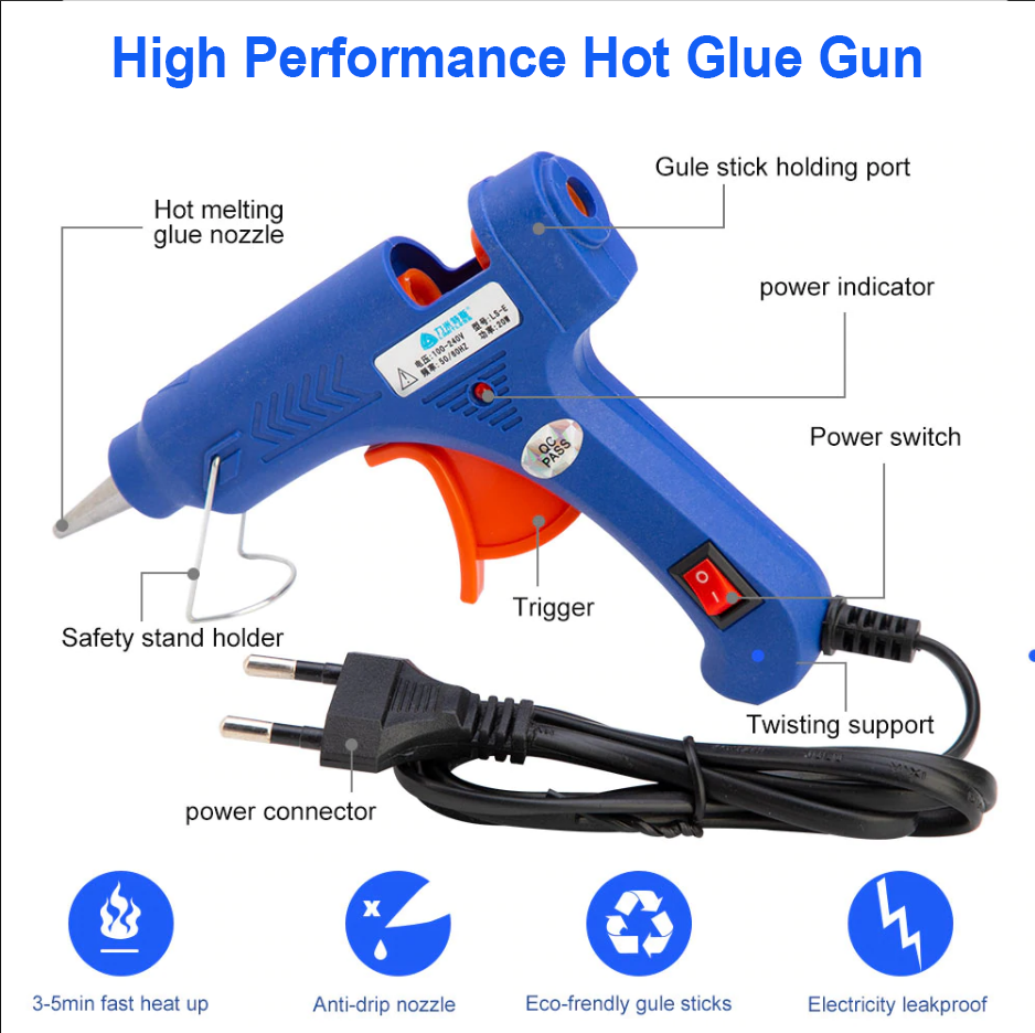 Lanben Hot Melt Glue Gun-NA10256