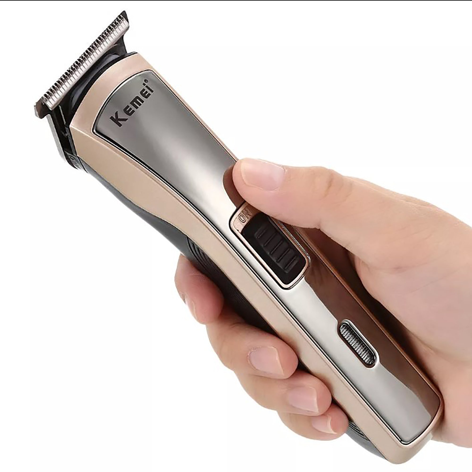 Professional Kemei Rechargeable Cordless Beard/Hair Clipper Km-418-SK0375