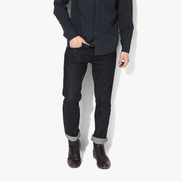 "Men's ""On The Way"" Slim Fit Denim Black -ND24"