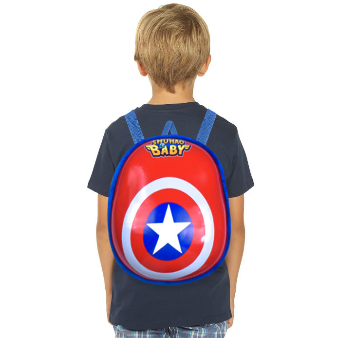 Hard Shell School Bag For Kids-Shield-BE11588
