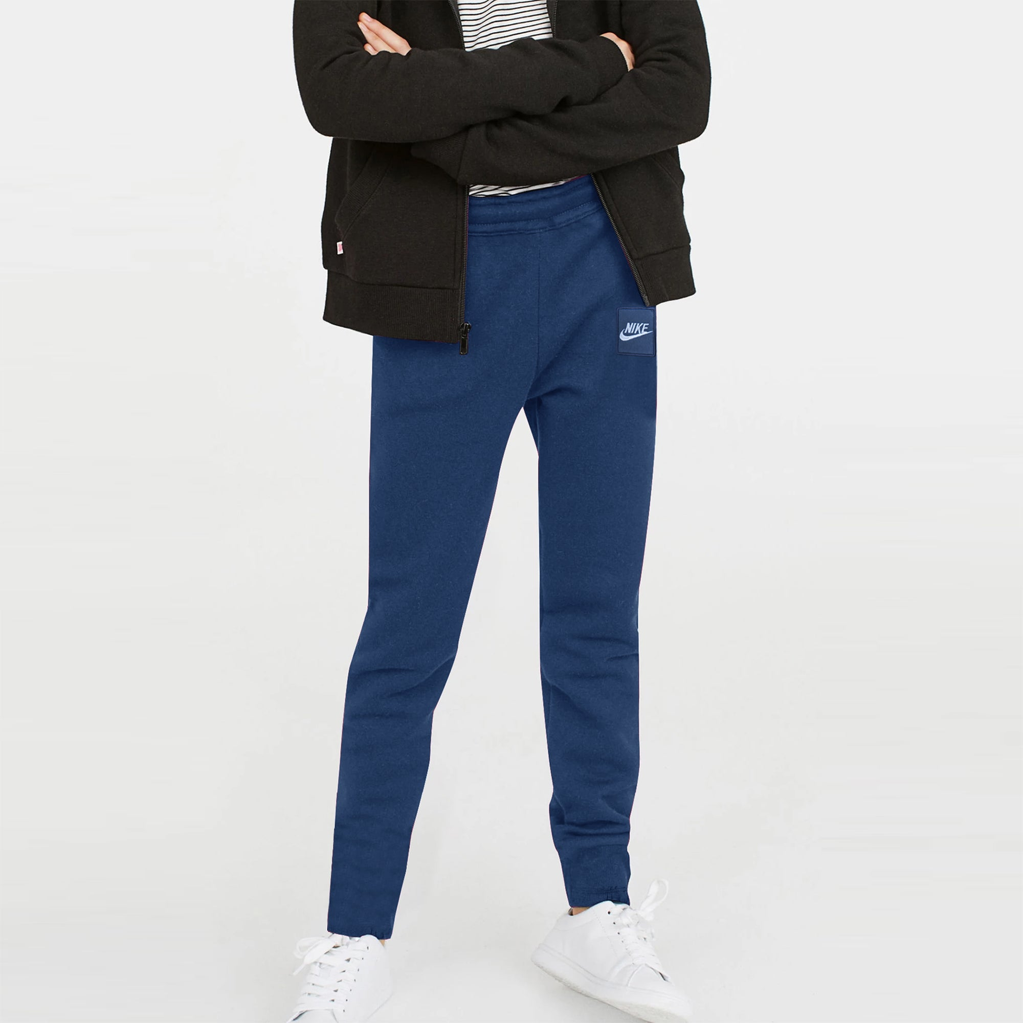 NK Terry Fleece Jogger Trouser For Boys-Dark Blue-SP1073