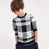 Tommy Hilfiger Terry Fleece Crew Neck Sweatshirt For Kids-Allover Print-SP814