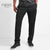 Next Slim Fit Fleece Jogger Trouser For Men-Charcoal Black-NA52