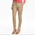Breakout Slim Fit Cotton Denim For Girls-Camel-SP1783