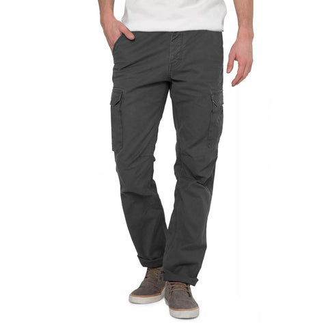 Next Cut Label Cargo Trouser For Men- Gray-BE2107