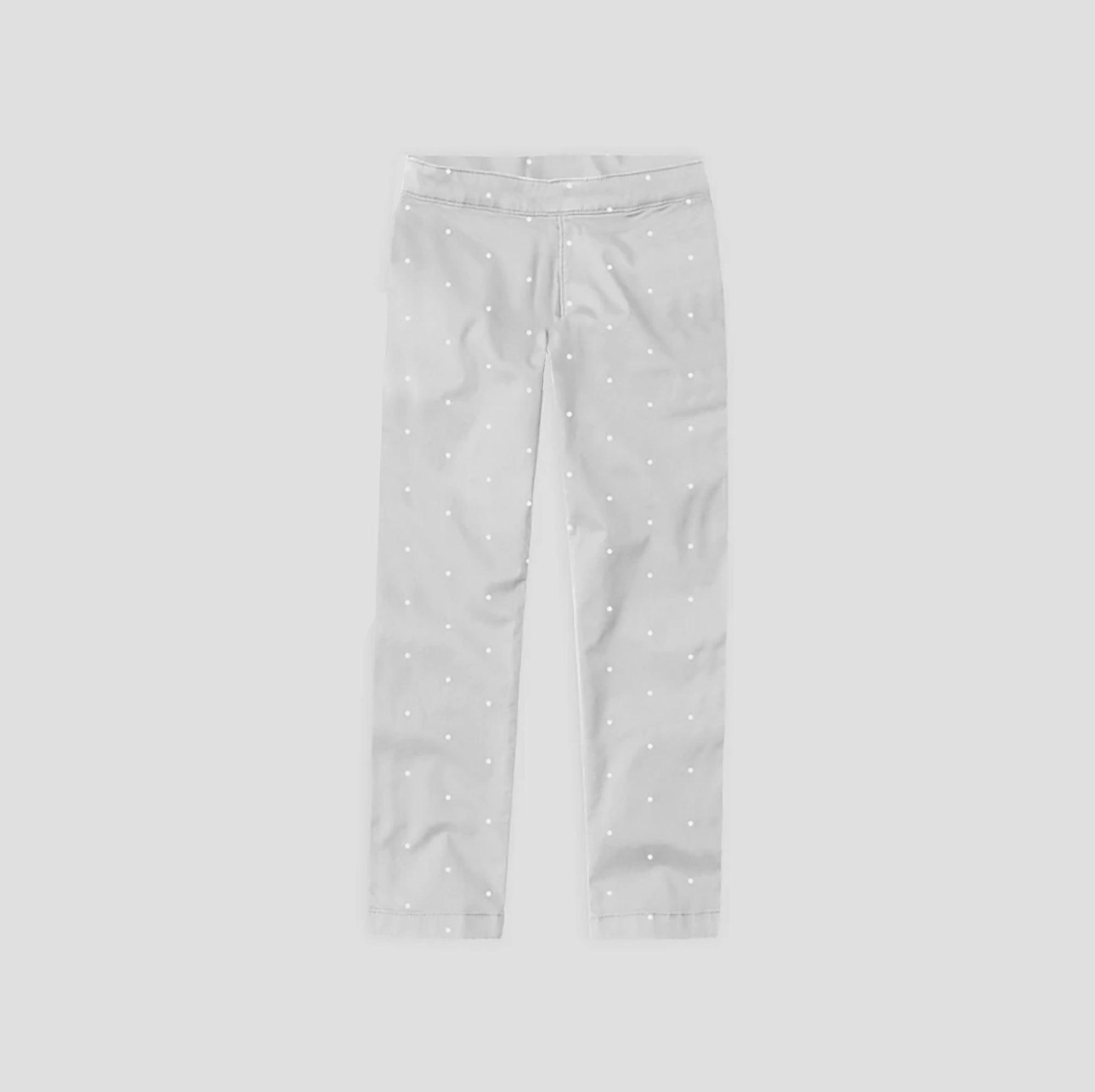 brandsego - Zara Man Slim Fit Flannel Trouser For Kids-Grey with Allover Print-SP339