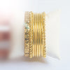 Set Of Premium Metal Golden Bangle-NA9236