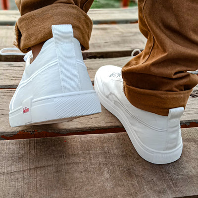 Hengbu Diligent Sneaker Shoes For Men-White-NA10959