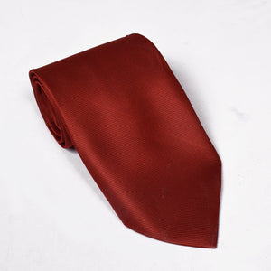 Solid Silk Tie For Boys-NA1035