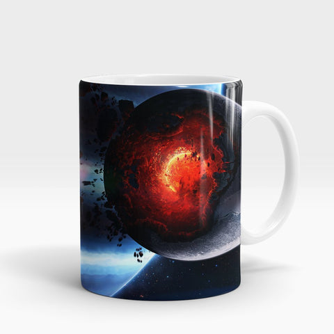 Space Cataclysm Printed Mug-NA5809