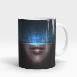 Space Face Printed Mug-NA5787