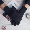 Special Wool Knited Gloves Free Size For Men-Assorted-NA10251