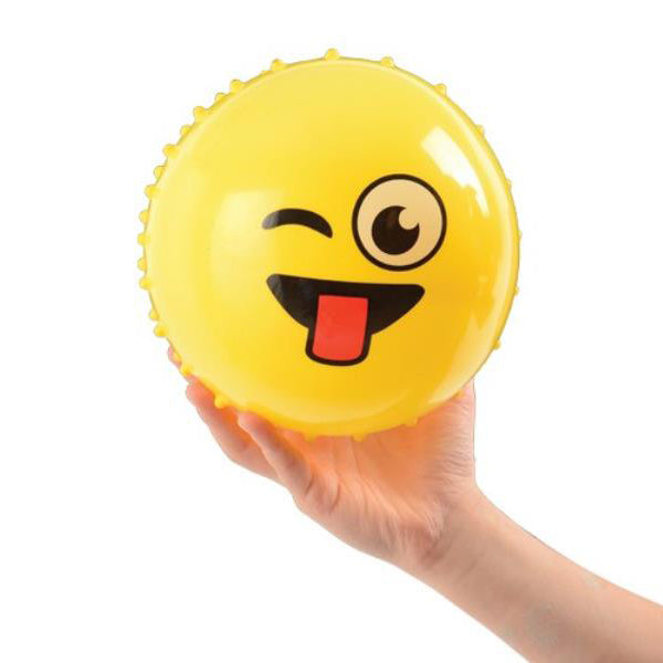 Spiky Emoji Ball-Assorted Color-NA10733