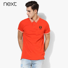 Next Polo For Men Cut Label-Orange-BE2526