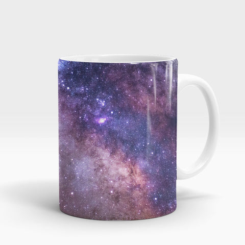 Star Cluster Milky Way Printed Mug-NA5795