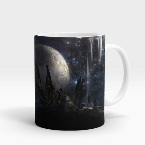Stars People Planet Art Printed Mug-NA5793