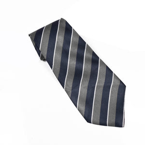 Stripe Silk Tie For Boys-NA1028