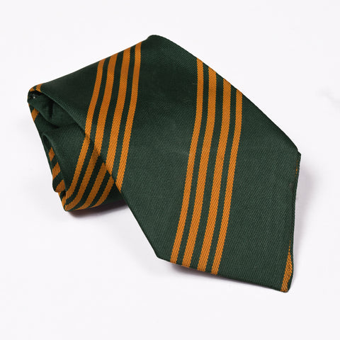 Stripe Silk Tie For Boys-NA1031