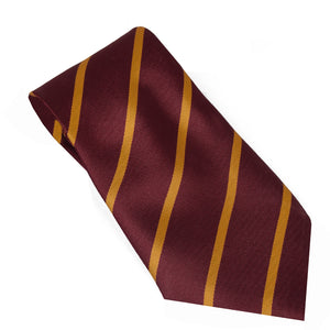 Stripe Silk Tie For Boys-NA1038