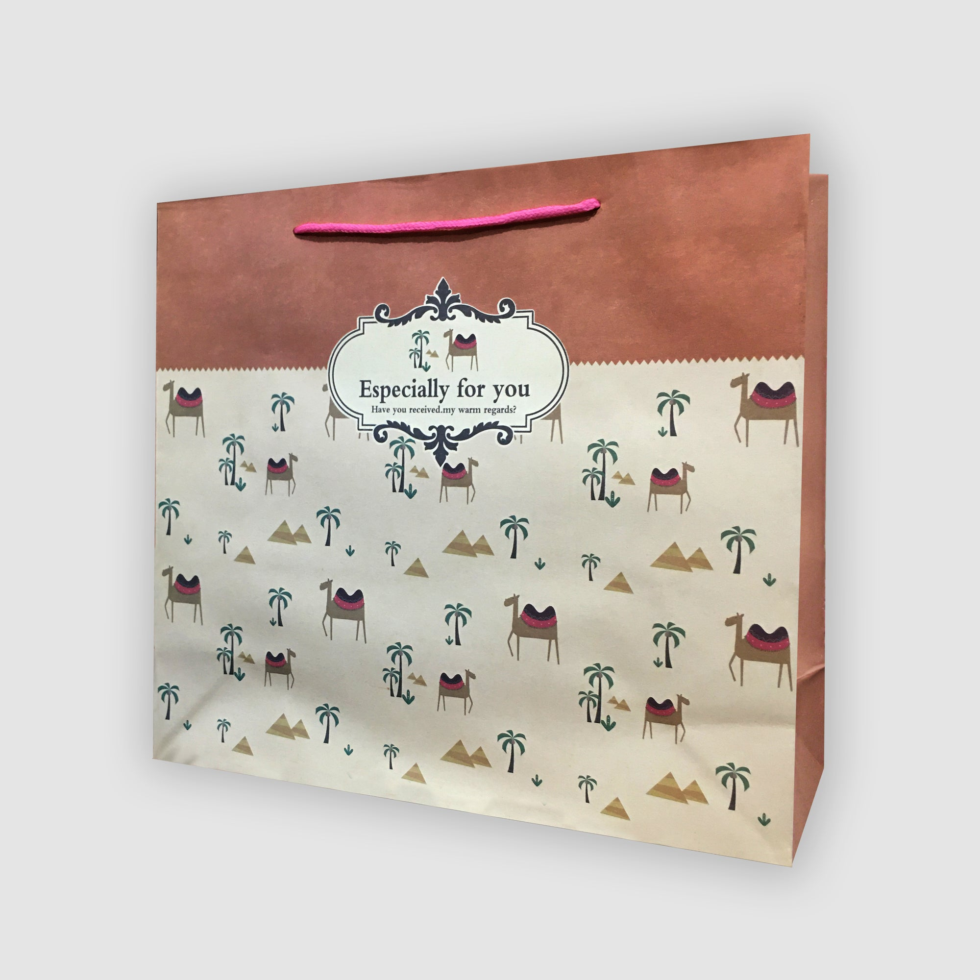 Stylish Printed Gift Bag-NA11374