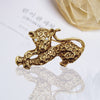 Stylish Golden Brooch-NA7113