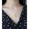 Stylish Golden Chain NECKLACE For Ladies-Assorted-NA7131