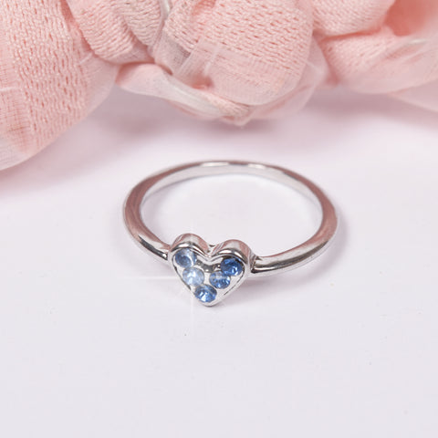 Stylish Heart Style Metal Ring-NA5143